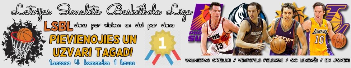 Latvijas Simulētā Basketbola Līga