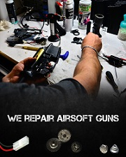 Airsoft gun repair
