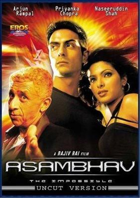 Миссия в Цюрихе / Asambhav (Раджив Рай / Rajiv Rai) [2004 г., Боевик, DVDRip]