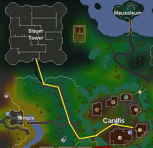 kā tikt uz Slepkavu Torni